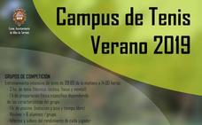 Abierto el plazo para el Campus de Verano del Club Deportivo Tenis Alba de Tormes