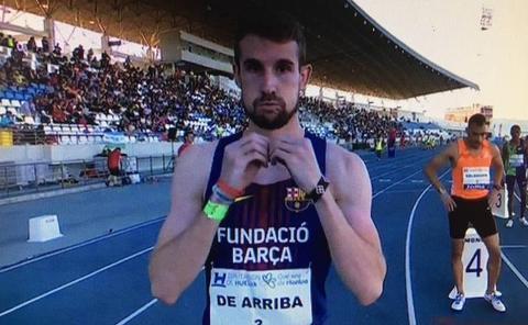 Álvaro de Arriba gana en el XV Meeting Iberoamericano de Huelva pero sin la marca mínima para Doha