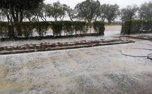 El granizo causa daños en el cereal al este de Rioseco para despedir una primavera que solo dejó 68 litros en Valladolid