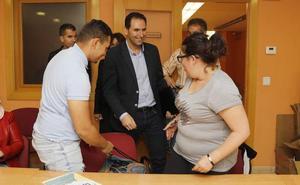 Simón confía en que Polanco esté de forma «activa e importante» en el Ayuntamiento de Palencia