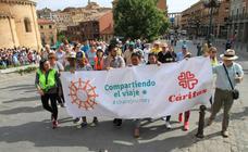 Cáritas marcha a favor de los refugiados