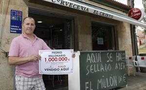 El ganador de 'El Millón' en Palencia: «Perdí el color de la cara cuando vi que había ganado»