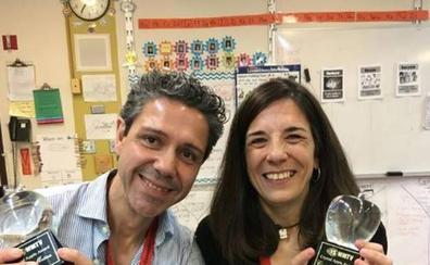 Dos antiguos alumnos de la UVA ganan el Crystal Apple Award Teacher of the year 2019 de Estados Unidos