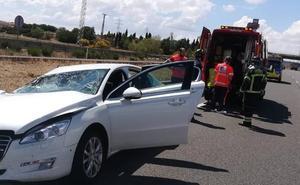 Se empotra contra un camión en Tordesillas