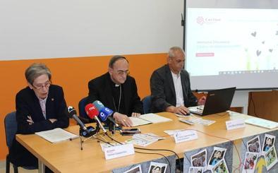 Las personas atendidas por Cáritas en Salamanca aumentan y superan las 12.700 en 2018