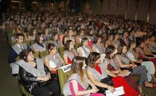 Fiesta de los graduados de la Escuela Universitaria de Enfermeria de Palencia