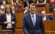 Así ha vivido Alfonso Fernández Mañueco la sesión constitutiva de la X Legislatura de las Cortes de Castilla y León