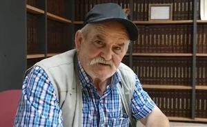 El pastor segoviano Pedro Sanz predice un agosto «sofocante» con el método de las cabañuelas