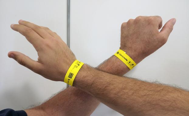 el más nuevo be85e eb7f3 Consigue gratis tu pulsera para al festival 60+ Activos   El ...