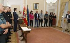 Palencia reconoce el trabajo de los agentes de seguridad privada