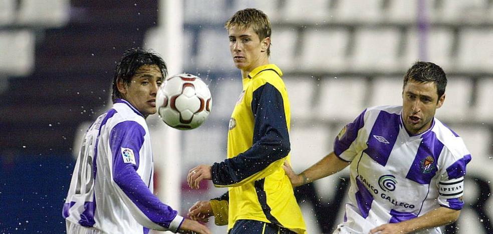 El paso de Fernando Torres por Valladolid