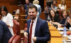 Así ha vivido Luis Tudanca la sesión constitutiva de la X Legislatura de las Cortes de Castilla y León