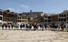 La afición ecuestre demuestra su fortaleza en las ferias de Medina del Campo y Peñafiel