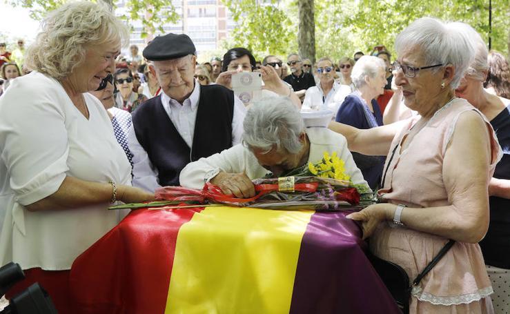 Palencia se emociona con 'la madre del sonajero'
