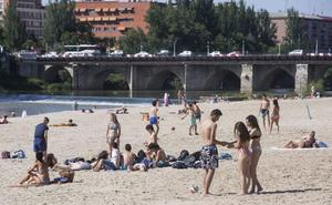 Una ola de calor dejará temperaturas de hasta 40 grados a partir del miércoles en Valladolid