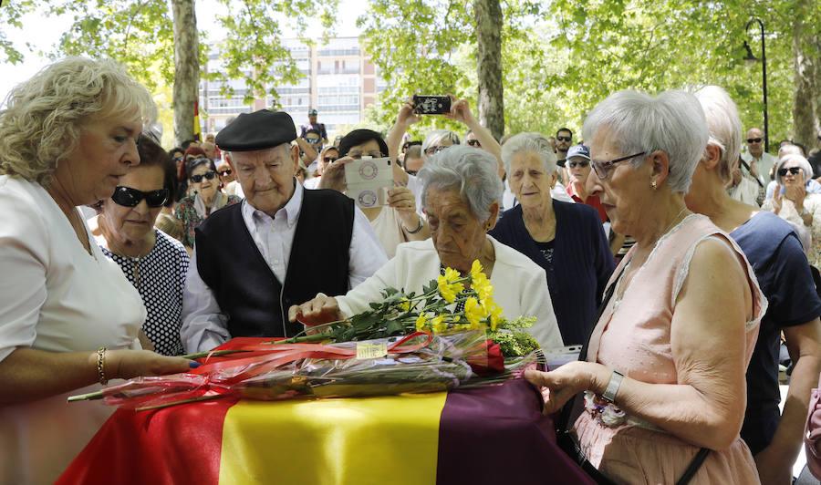 Palencia homenajea a 'La madre del sonajero'