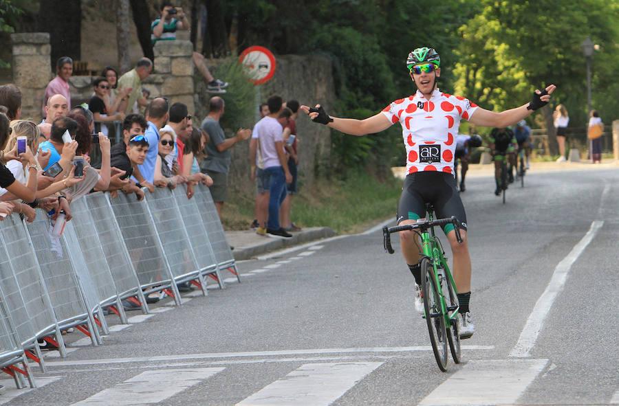 Sergio Martín, un líder de puntos rojos para la Vuelta a Segovia