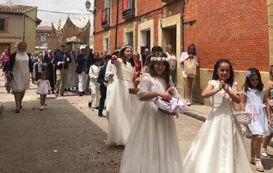 Villalba de los Alcores despedirá este lunes sus fiestas en honor a la Virgen de Fuentes