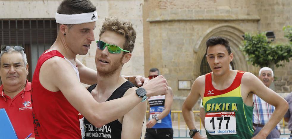 Los hermanos García Catalina, campeones del circuito Legua a Legua de Palencia