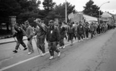 El Espinar ha visto pasar todas las marchas reivindicativas en los últimos 30 años (1)