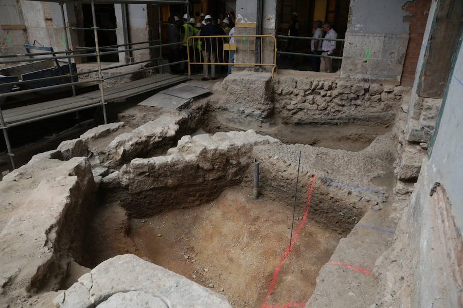 Hallan en Valladolid restos de la antigua mezquita