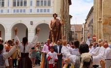 Procesión de San Juan Bautista en Rioseco