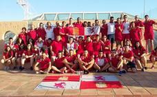 Castilla y León, quinta en el Nacional Polideportivo
