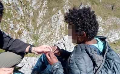 Los rescatadores de Abdu en Picos de Europa: «Si no tuviese esa complexión atlética difícilmente hubiera sobrevivido»