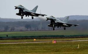 Dos aviones Eurofighter se estrellan en el noreste de Alemania