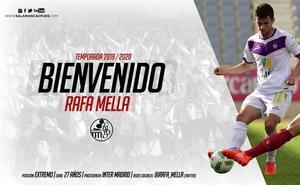 El Salamanca CF firma al extremo Rafa Mella, ex del Inter de Madrid