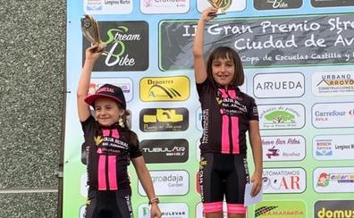 Seis podios para el Promesal en la carrera Stream Bike de Ávila