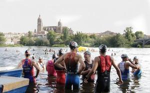 Casi un millar de triatletas competirá en Salamanca el próximo domingo