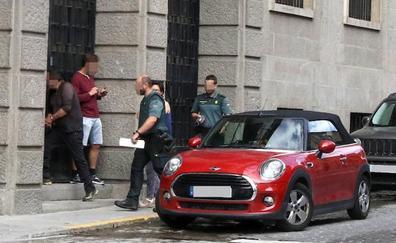 Al menos diez detenidos y registros en otra operación antidroga de la Guardia Civil en Segovia