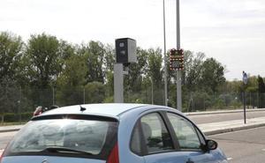 Dos nuevos radares se preparan para controlar el tráfico en Palencia