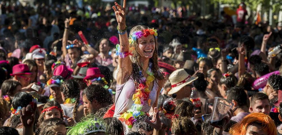Las peñas incluirán tráileres con música y charangas en el desfile de las fiestas de Valladolid