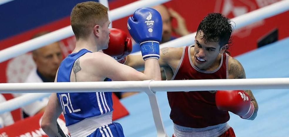 Cuadrado y Molina, eliminados a las puertas de la medalla en los Juegos Europeos de Minsk