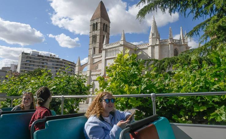Valladolid desde el bus turístico