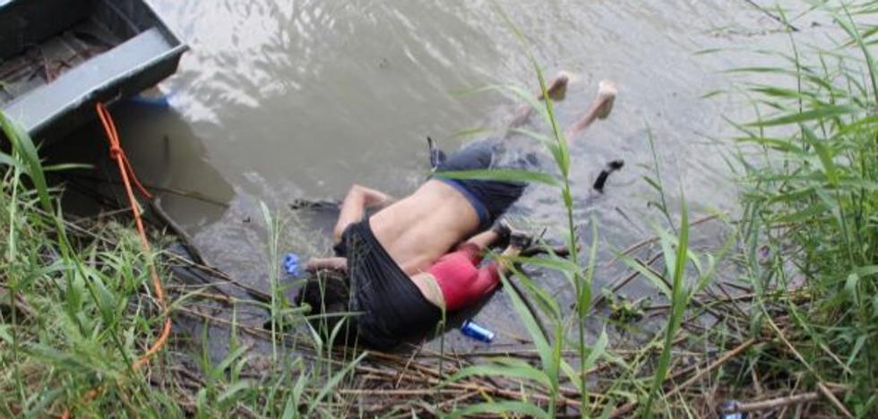 El drama migratorio en una imagen