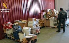 La Guardia Civil interviene en Segovia cuatro toneladas de alimentos no aptas para su comercialización