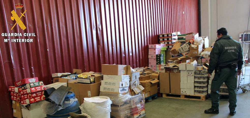 La Guardia Civil interviene en Segovia cuatro toneladas no aptos para su comercialización