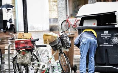Uno de cada cinco españoles está en riesgo de pobreza, con menos de 8.871 euros al año
