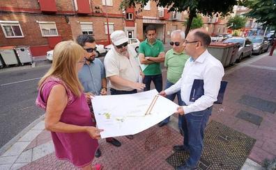 La calle Artillería de Valladolid perderá ocho plazas de aparcamiento para ampliar aceras