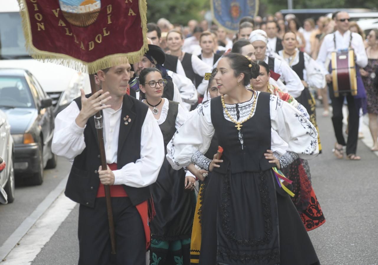 Pasacalles en las fiestas de La Rondilla