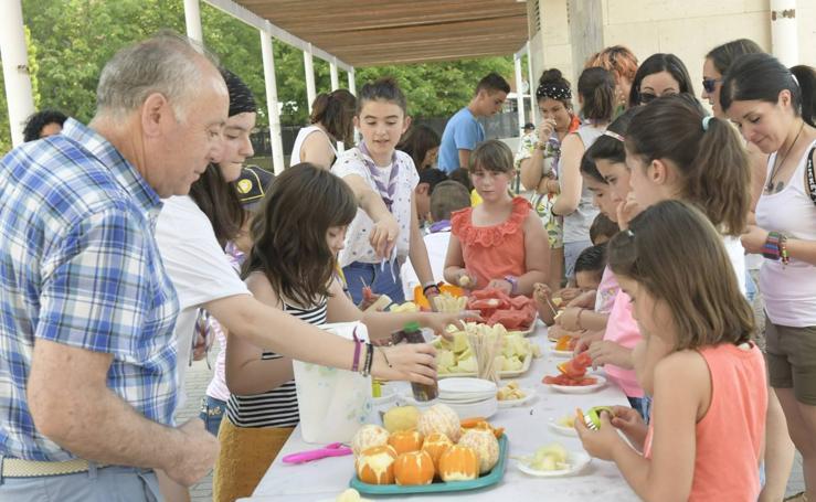 Los niños, protagonistas de las fiestas de La Rondilla y La Victoria