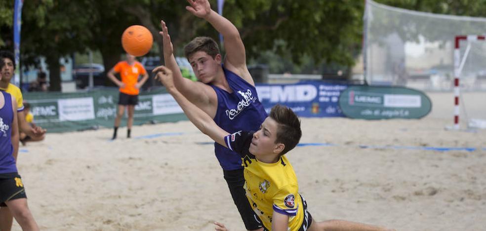 La selección masculina de Castilla y León se impone en Las Moreras