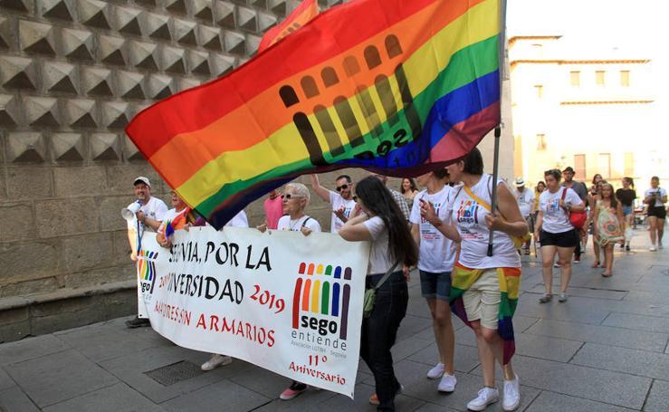 Manifestación del Orgullo Gay en Segovia