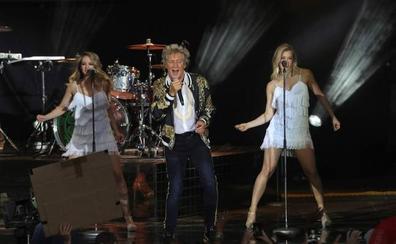 Sir Rod Stewart lleva su sofisticado 'show' a la Sierra de Gredos