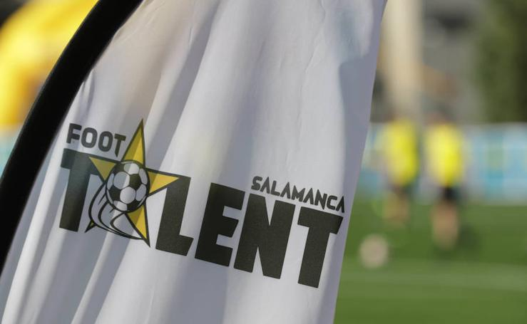 Imágenes del Proyecto Foot Talent en Salamanca