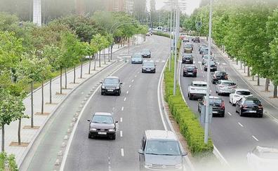 El asfaltado de un tramo de la avenida de Salamanca de Valladolid complicará el tráfico este verano