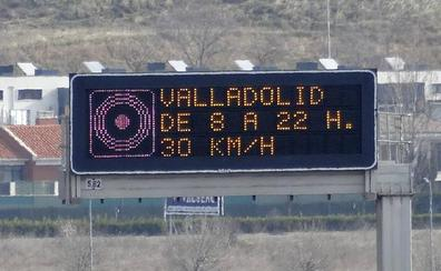 Valladolid limita la velocidad a 30 kilómetros por hora por un nuevo episodio de contaminación